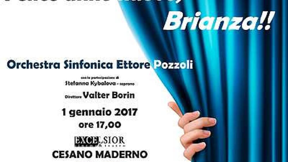Cesano Maderno, concerto Orchestra Pezzoli Capodanno Eventi a Monza