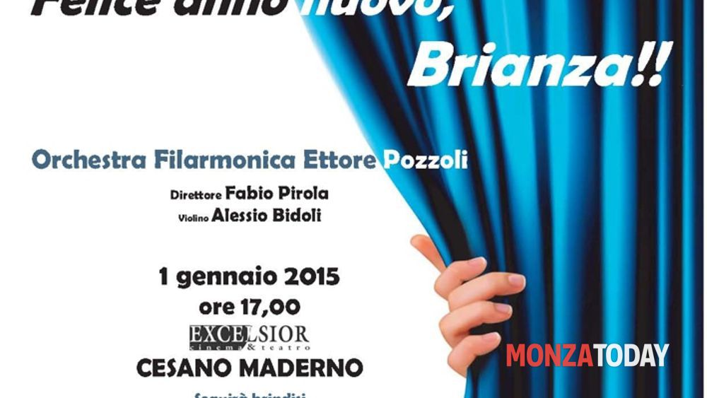 Concerto di Capodanno 2015 | Cesano Maderno | Cinema Teatro ...