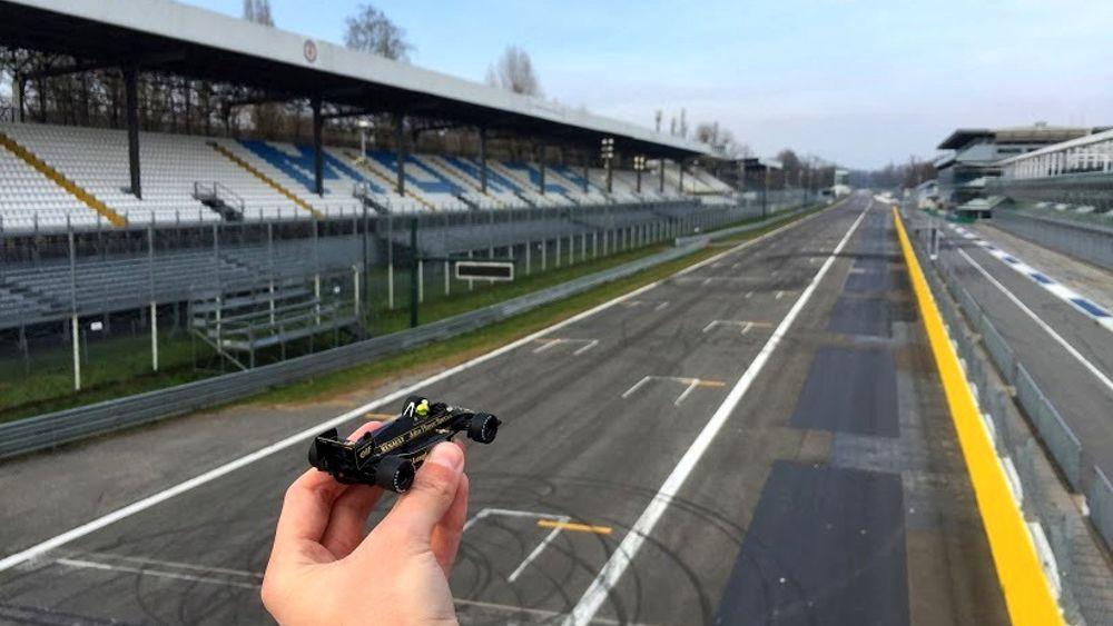 Circuito Monza : Senna dopo montecarlo rivive anche in autodromo a monza